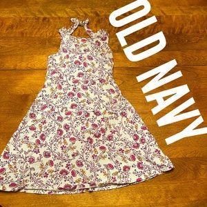 M (8) Old Navy girl's dress